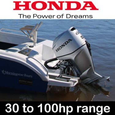 Honda 30hp - 100hp Outboard Range